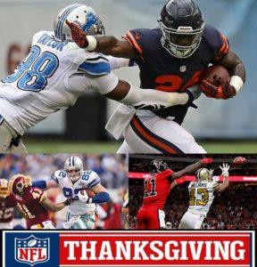 lions vs bears thanksgiving nfl